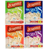 Bulk Scrabble Crossword Game Puzzle Books, 96 Pages at DollarTree