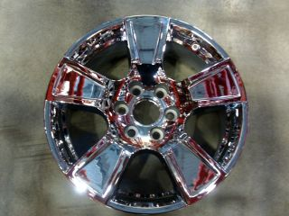 20 FACTORY CHEVY/GMC TRUCK/SUV CHROME WHL USED #5326