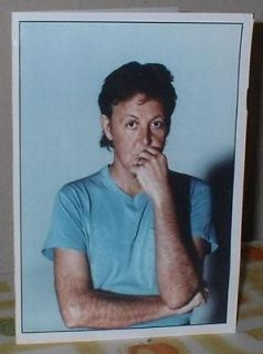 Paul McCartney Personalised Birthday Greeting Card M33