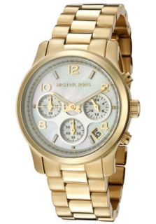 Michael Kors MK5305 Watches,Womens Chronograph Gold Tone Ion Plated