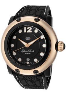 Glam Rock GK1011 Watches,Womens Miami Beach Black Dial Black