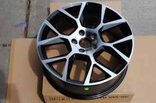 18 VW GTI 35 Style Black Machine Finish Wheels Rims Nissan Altima