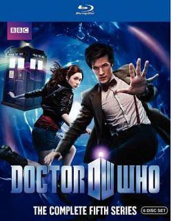 Doctor Who The Complete Fifth Series Blu ray Disc, 2010, 6 Disc Set