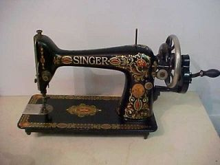 Antique Hand Crank Sewing Machine in Sewing Machines