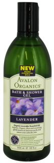 Avalon Organics   Bath & Shower Gel Lavender   12 oz. Made With 70%