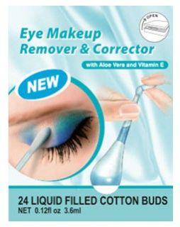 Swab Plus Eye Makeup Remover & Corrector Liquid Filled Cotton Buds x24