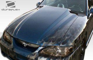 1994 1998 Ford Mustang Duraflex Cowl Hood 102255 (Fits Mustang)