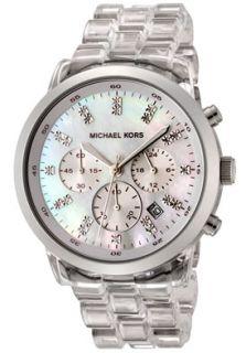 Michael Kors MK5235 Watches,Womens Chronograph White Crystal