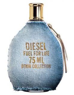 Diesel Fuel for Life Denim Femme Eau De Toilette Spray 75ml   Free