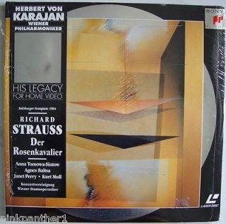 Herbert Von KARAJAN Richard STRAUSS Der Rosenkavalier 2 Disc