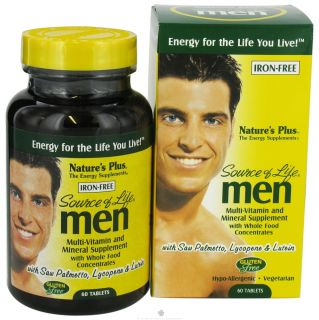 Buy Natures Plus   Source Of Life Mens Multi Vitamin   60 Tablets at