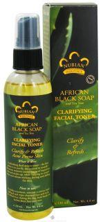 Nubian Heritage   African Black Soap Clarifying Facial Toner   4.4 oz.