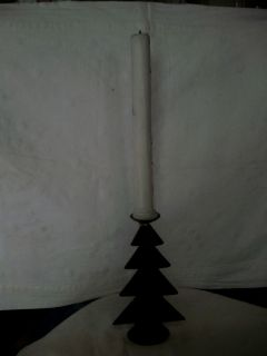 Wrought Iron collectible no.1113 A christmas tree candle stand