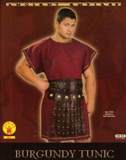 GREEK or ROMAN SOLDIER Warrior Legionaire Centurion Mens Burgundy