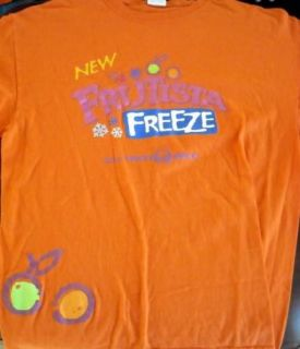TACO BELL T shirt large FRUTISTA FREEZE drink 2009