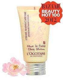 Occitane Cherry Blossom Petal Soft Hand Cream 75ml   Free Delivery