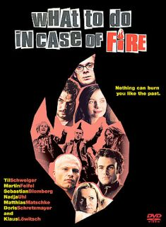 What To Do In Case of Fire DVD, 2002