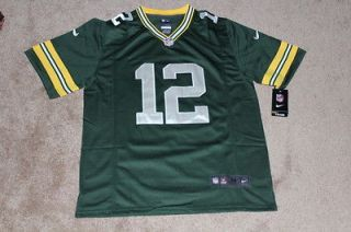 New Nike Aaron Rodgers Green Bay Packers Mens Jersey Medium Size 48