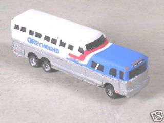 Classic Metal works LA Greyhound Bus Ho Scale