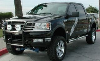 04 08 FORD F 150 GRILL GUARD BRUSH POLISHED STAINLESS