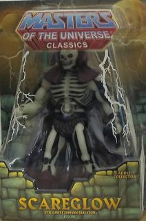 MASTERS OF THE UNIVERSE CLASSICS MOTU SCAREGLOW DAMAGED PACKAGING