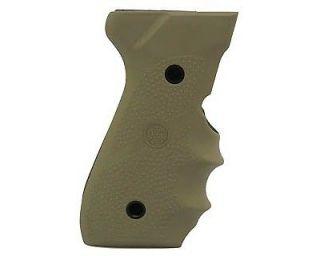 Hogue Desert Tan Rubber Pistol Grips Beretta 92F/92FS/92SB/96/M 9 w