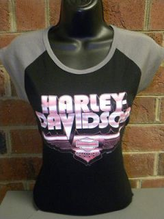 harley shirts pink in Clothing,