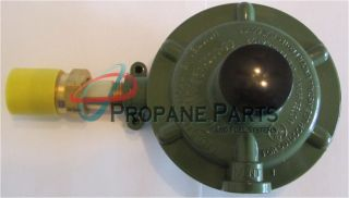 HIGH PRESSURE PROPANE REGULATOR FOR SMALL ENGINES W/ POL FITTING