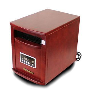Diva Tranquility Portable Quartz Infrared Space Heater 1500 Watts Chry