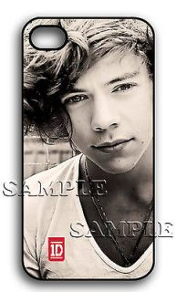 APPLE iPHONE 4 4S HARRY STYLES ONE DIRECTION 1D HARD CASE PRESENT