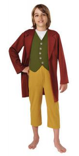 Large Kids Bilbo Baggins Costume   The Hobbit   Harry Potter Costume