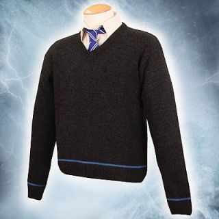 Harry Potter Ravenclaw School Sweater with Tie   Licensed Hogwarts