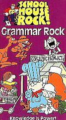 Schoolhouse Rock   Grammar Rock VHS, 1995
