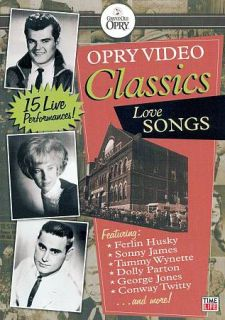 Grand Ole Opry Video Collection Love Ballads DVD