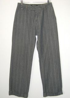 Womens MISS SIXTY (Italy) Heavy Cotton Pants Size 25