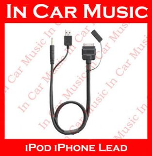Pioneer CA IW.50V iPod iPhone Lead Cable AVIC F930BT