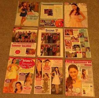 Posters & Articles! Victoria Justice Ariana Grande Avan Jogia