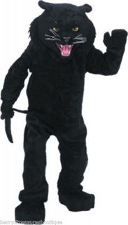 BLACK PANTHER Professional Quality Mascot Costume Adult