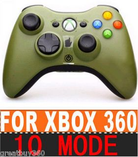 GREEN SPLATTER MW3 32 Mode RAPID FIRE Modded Xbox 360 COD Controller