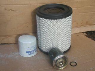 Isuzu Diesel Truck NPR 4HK1 Air Oil Fuel Filter Kit 04