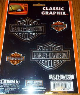 Harley Davidson Chroma Classic Graphix Decals Stickers for Auto Truck