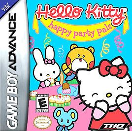 Hello Kitty Happy Party Pals Nintendo Game Boy Advance, 2005