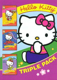 Hello Kitty Triple Pack DVD, 2011, 2 Disc Set