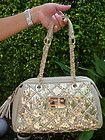 BEBE bag purse handbag SATCHEL pocketbook BLACK HOBO