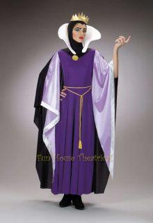 DISNEY SNOW WHITE DELUXE EVIL QUEEN HALLOWEEN COSTUME Dress Adult