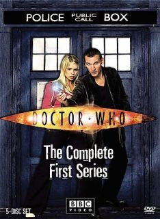 Doctor Who   The Complete First Series (DVD, 2006, 5 Disc Set)