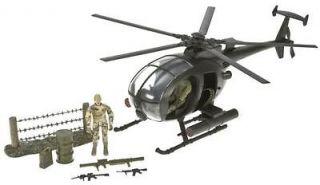 World Peacekeepers 118 Combat Helicopter Little Bird GI Joe Scale