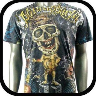 Shirt Tattoo Skull Art Graffiti N38 Sz L Streetwear Indie Hip Hop
