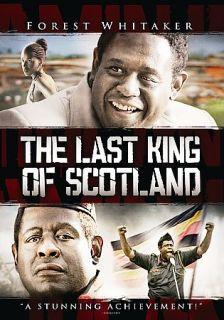 The Last King of Scotland DVD, 2007, Full Frame