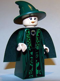 LEGO   HARRY POTTER   Professor McGonagall w/ Cape   MINI FIG / MINI
